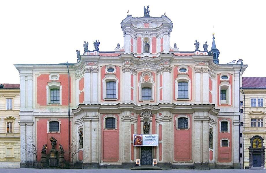 Výsledek obrázku pro sv. Voršila Praha Nové město